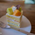 ユクリ - メロンショートケーキ