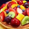 ホテル パティスリー ウフ - 料理写真:自家製さくさくタルトに季節のフルーツをたっぷりと飾った自慢のフルーツタルト