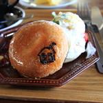 エス カフェ - 料理写真:ベーグルスイーツサンド