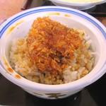 さくら - ミニヒレカツ丼