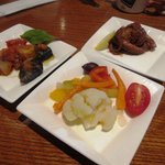 アズーラ・ディ・カプリ - 料理写真:アンティパスト3種