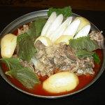 明洞 - 料理写真:キムチ食べ放題