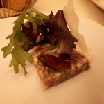 ピアット・スズキ - 田舎風豚肉のパティ