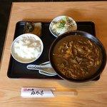 丹永亭 - カレー定食  ¥1050