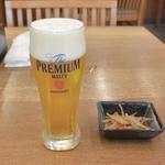 東久留米 砂場 - 料理写真:生ビール 小(430円)
