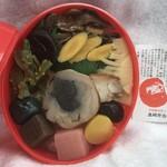 たかべん - 料理写真:だるま弁当(内部)