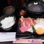 89965051 - 厳選焼肉6種盛り 1,200円(1日限定15食)