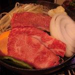 89965077 - 厳選焼肉6種盛り 1,200円(1日限定15食)