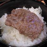 89965095 - 厳選焼肉6種盛り 1,200円(1日限定15食)