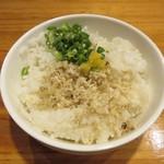 真鯛雑炊丼(小)