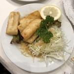 レストラン桂 - イカのフライ
