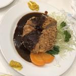 レストラン桂 - メンチカツ