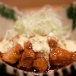 89972998 - 和定食 1700円 の若鶏の甘酢餡かけ タルタルソース