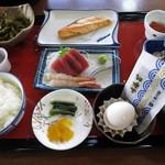 石川屋 - 朝食