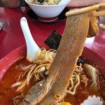 日和田製麺所 - 長~いバラ肉チャーシュー