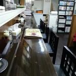 新天地人 - カウンター7席、4人掛テーブル席×2