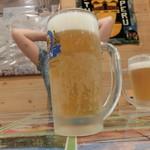 アルコイリス - CHOP生ビール \530