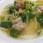 オーキッド キッチン - タイ風ラーメン(豚肉入り)