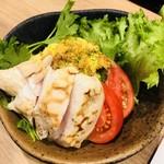 地鶏と本格焼酎 かし和 - ポテサラ