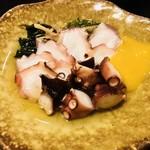 かちかち山 - タコの酢の物(ぬた)
