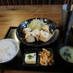 89977251 - とりマヨ定食╰(*´︶`*)╯♡