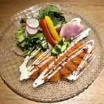 TOKYO CRAFT LAND 銀座 - 《サーモンのカルパッチョ》790円