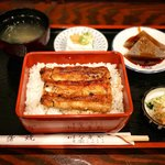 稲毛屋 - ■鰻重定食 1830円
