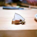 鮨 尚充 - ☆鮑、肝醤油