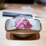 鮨 尚充 - ☆和歌山 鮪の漬け