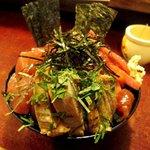 鶴橋まぐろ食堂 - 料理写真:ハーフ丼