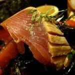 鶴橋まぐろ食堂 - ハーフ丼 タタキ