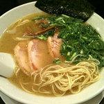 丸千製麺 - 鶏丸(塩味・鶏チャーシュー)680円