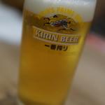 仙臺たんや 利久  - 生ビール