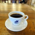 クロスコーヒー チョコレートアンドサンドウィッチズ - モーニングセット540円