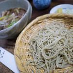 Bonaji Sobakiri - 料理写真:鴨汁