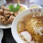 わかたけ中華レストラン - 料理写真:からあげ定食