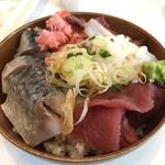 舞浜ユーラシア - 海鮮丼 (朝食ブッフェ)