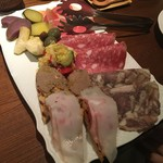 トスカネリア - トスカーナ風前菜の盛り合わせ
