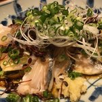 蔵人厨 ねのひ - 旬のたたきサラダ