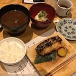 蔵人厨 ねのひ - ねのひ吟醸酒粕漬け魚膳 2,484円