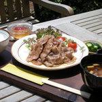 カフェTomato - お肉ランチ 980円