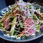 丸明 - 飛騨牛のサラダ