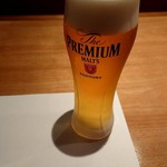 89990004 - 生ビール(プレモル)590円