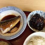 89990324 - 煮鯖と茄子の煮浸し