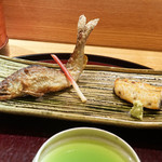 日本料理 太月 - 馬瀬川鮎と鰻