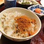 日本料理 太月 - からすみの粉