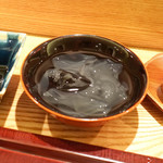 日本料理 太月 - 葛きり