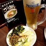 89990897 - 生ビール(プレモル)650円