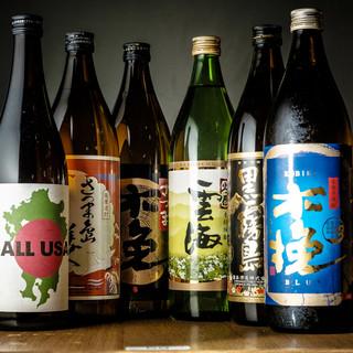 地元九州の焼酎・日本酒を堪能!!