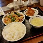 Chuukaryourinishimachi - 「八宝菜定食 (1300円)」
